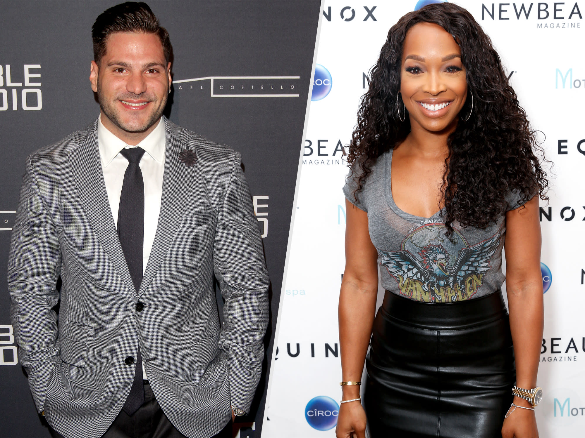 Surprise — Malika Haqq and Jersey Shore Star Ronnie Magro