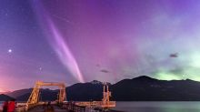 Atmospheric phenomenon known as 'Steve' will brighten up your night
