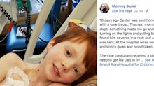 4-year-old diagnosed with leukemia after being sent home from school with a sore throat