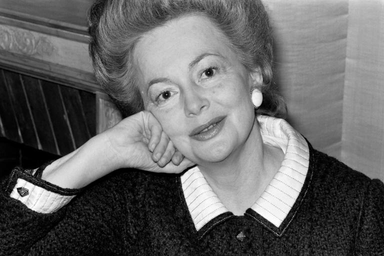 De Havilland, pictured in 1970 in Paris, was nominated for five Oscars (AFP Photo/-)