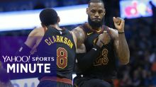 LeBron's overhauled Cavs look mighty monstrous in taking down Thunder