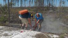 Portofino's Geological Team Initiates Channel Sampling - Allison Lake North Lithium, Rare Elements Property