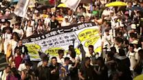 Thousands call for free elections at Hong Kong rally