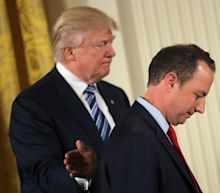 Trump Unfollows Priebus on Twitter