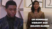 Chadwick Boseman sacré aux Golden Globes 2021, sa femme reçoit son prix