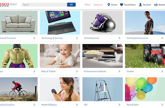 Tesco Direct to close as it falls to other online retailers
