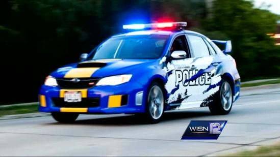 Greenfield Police Department displays unique squad car at Auto show