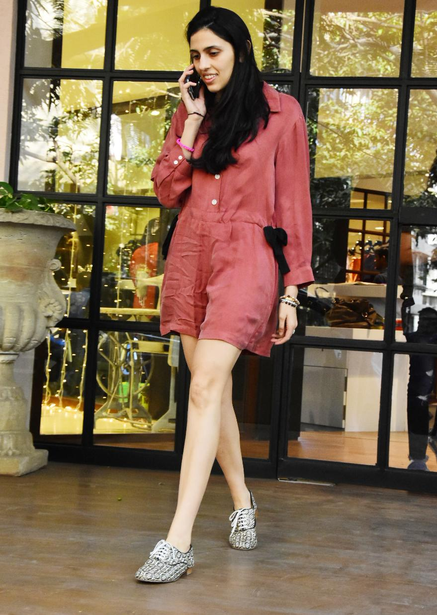 Shloka Mehta spotted on a shopping outing with her mom