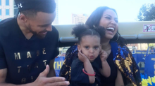 Ayesha Curry's Sparkly Bomber Jacket Was Made for a Champion