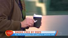 Victoria looking to stamp out smoking by 2025