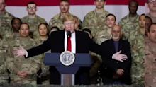 President Trump travels to Afghanistan for surprise Thanksgiving visit