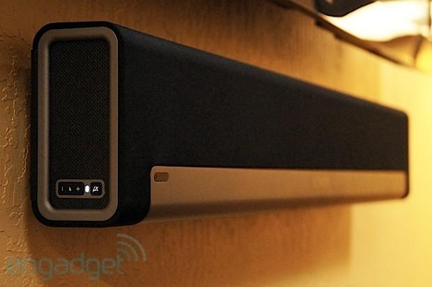 Sonos Playbar: a home theater soundbar that wirelessly streams music for $699, we go hands- (and ears) on