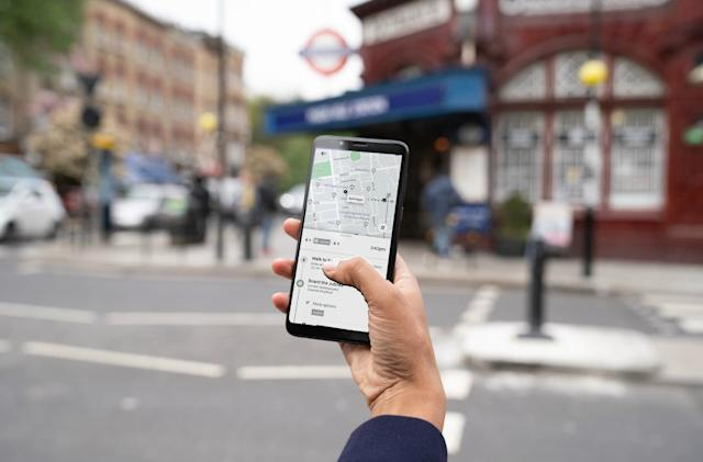 Uber adds London's public transportation info to its app