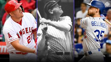 Chasing 60: Can Bellinger, Yelich, Trout or Alonso reach baseball's fabled home run number?