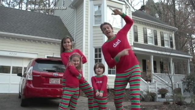 Family Raps Christmas Card
