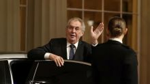 Czech president tries to tamp down China anger after speaker's Taiwan trip
