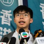 Hong Kong activist Joshua Wong walks free, calls on leader to resign