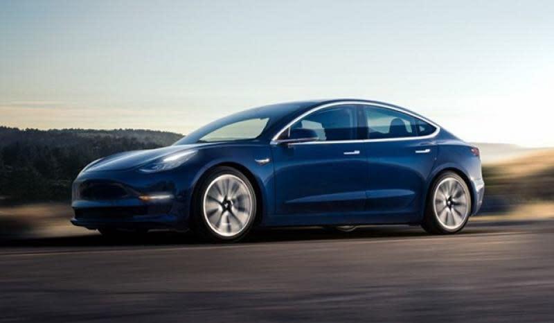 本周Tesla也宣布它們終於達成在7天內生產5,031輛Model 3的目標。(圖片來源:Tesla)