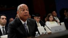 Trump fumes on Twitter after ex-Homeland Security chief testifies about Russian cyberattacks
