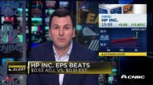 HP Inc. beats on top and bottom, HP Enterprise misses revenue