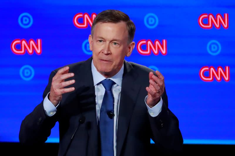 Hickenlooper wins Democratic primary for key U.S. Senate seat in Colorado