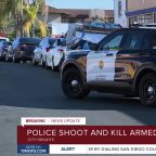 Police shoot and kill armed man