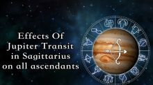 Effects of Jupiter transit in Sagittarius on all ascendants