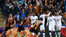 Hull City 2 Watford 0: Ten-man Tigers put pressure on Crystal Palace in relegation battle