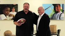 Andy Reid and Jeffrey Lurie address Eagles employees
