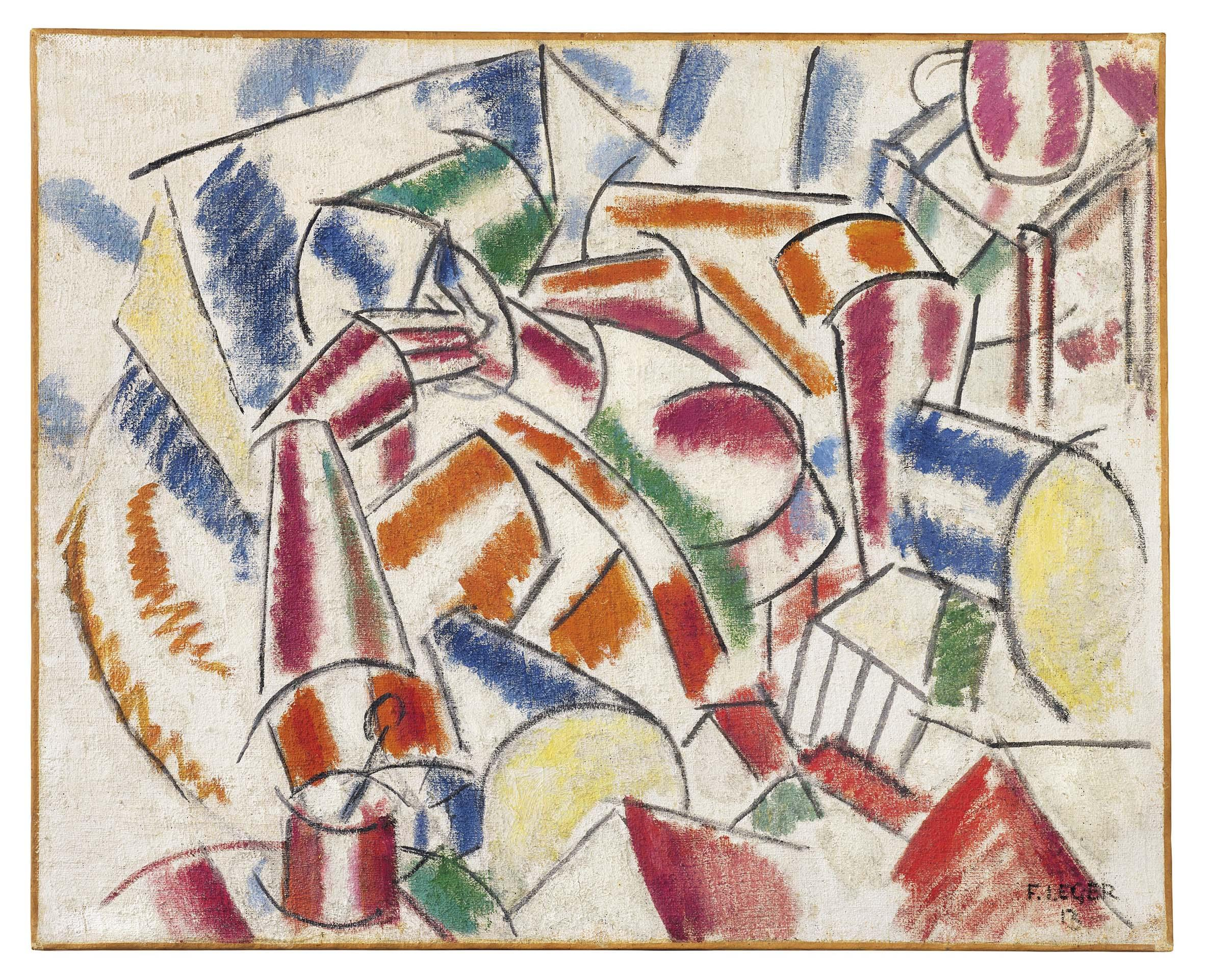 Painting Léger Major By This Fernand Spring Offering Christie's QxBthCsdr