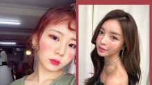 情人節妝容想好了嗎?不如就跟上韓國女生最新的「心心胭脂」熱潮吧!