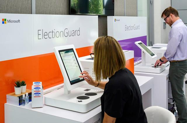 Microsoft demos its bid at creating 'secure' voting systems