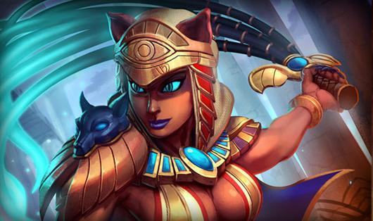 SMITE now features Bastet, the Goddess of Cats