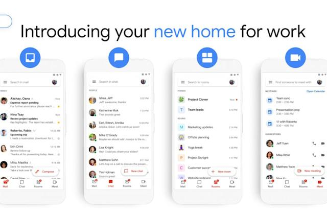 Gmail's updated workplace design rolls out on Android and the web