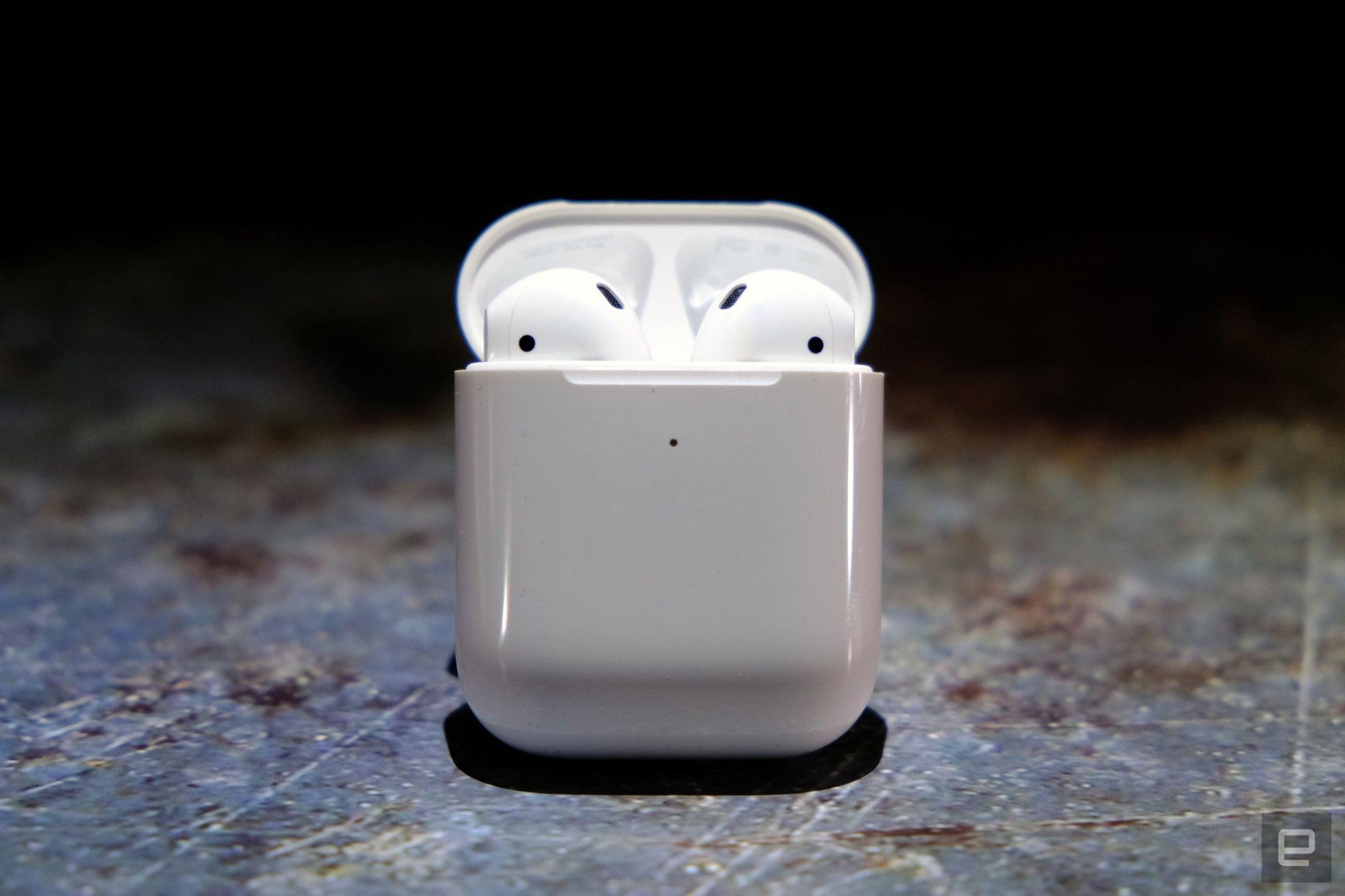Apple AirPods with a wireless charging case hit a new low price of $108 | Engadget