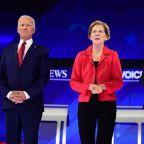 Joe Biden and Elizabeth Warren suggest Kamala Harris could be their pick for VP