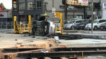 SIU investigating rollover crash at city-owned construction site that injured 3 people