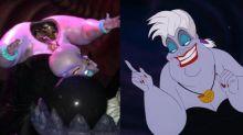 """¡Qué horror! Una Úrsula """"decapitada"""" aterra a los niños en una atracción de Disneyland"""