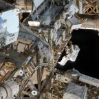 Watch live as NASA astronauts spacewalk to install a new automated docking ring on the ISS