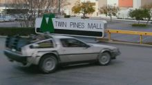 Chris Hardwick travels 'Back to the Future' to visit filming locations