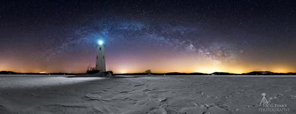 The Milky Way Over Loon Island: A Stargazer's Stunning View (Photo)