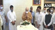 Amit Shah pays last respects to Ram Vilas Paswan