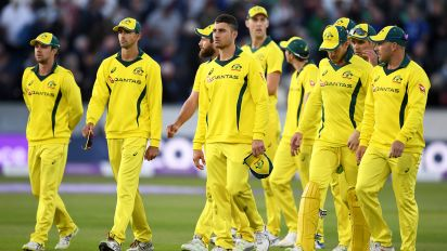 England on verge of whitewash as Aussies fall
