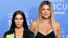 Kim y Khloe Kardashian robaron lentes de sol por diversión