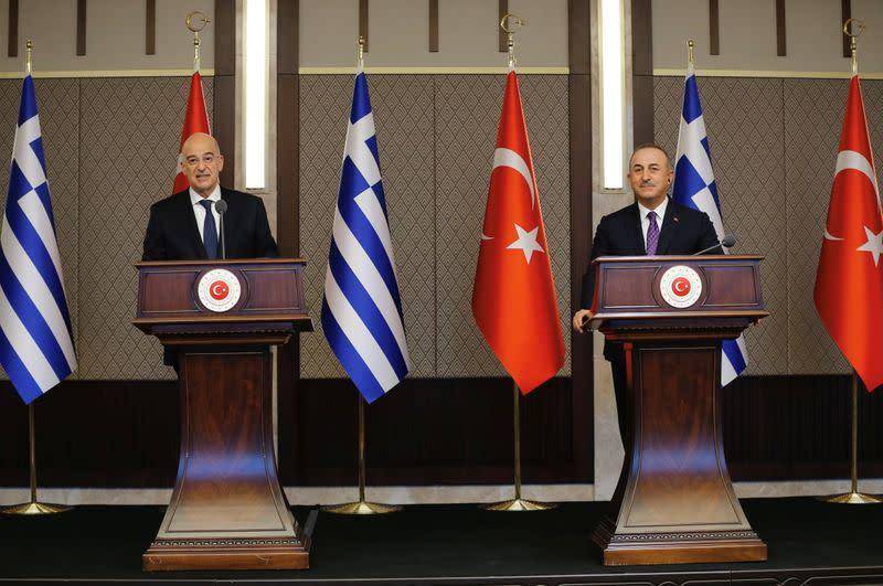 Η Ελλάδα, μετά τη διαφωνία των υπουργών είπε ότι ήθελε μια θετική ατζέντα με την Τουρκία