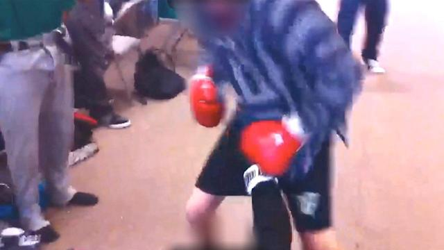 Outrage over Victor Valley High boxing match