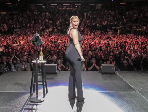 Amy Schumer's response to the people who walked out of her Tampa show is so badass