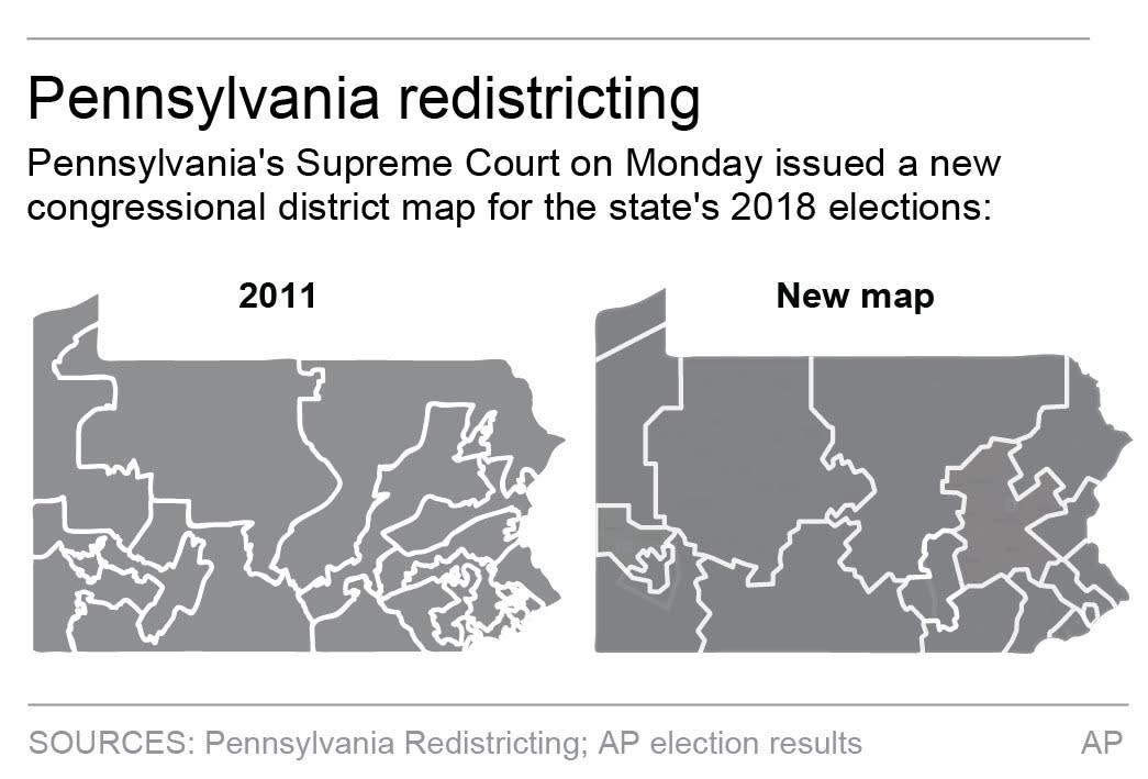 good pennsylvania voter map 13