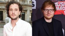 Kit Harington and Ed Sheeran's Friendship Began at a Urinal