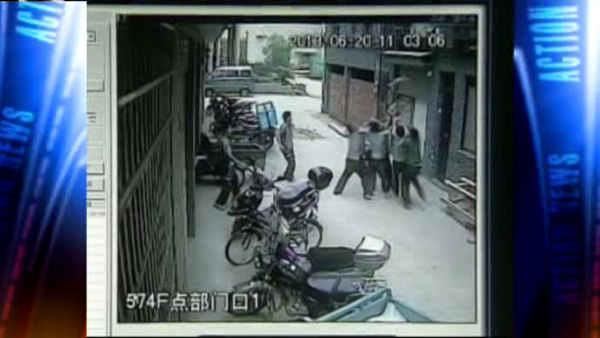 Toddler falls from 5-story window in China